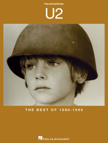 U2 - The Best of 1980-1990 (Songbook)