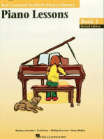 Piano Lessons Book 3 - Book/Online Audio & MIDI Access Included