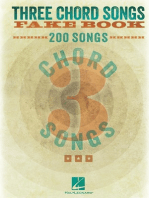 Three Chord Songs Fake Book