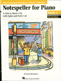 Notespeller for Piano, Book 3: Hal Leonard Student Piano Library