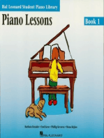 Piano Lessons Book 1: Hal Leonard Student Piano Library