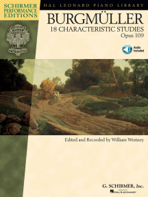 Johann Friedrich Burgmüller - 18 Characteristic Studies, Opus 109: edited and recorded by William Westney