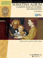 Sonatina Album: Clementi, Kuhlau, Dussek, and Beethoven