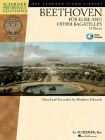 Beethoven - Für Elise and Other Bagatelles