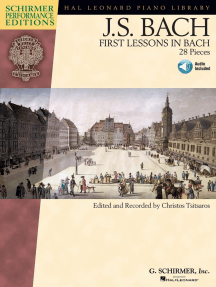 First Lessons in Bach: 28 Pieces