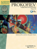 Sergei Prokofiev - Visions Fugitives, Op. 22: With Access to Online Audio of Performances