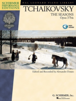 The Seasons, OP. 37bis: edited and recorded by Alexandre Dossin