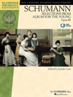 Schumann - Selections from Album for the Young, Opus 68