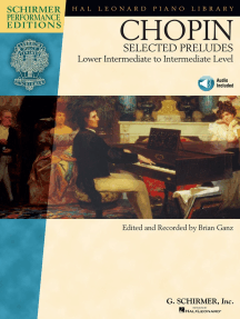 Chopin - Selected Preludes: Lower Intermediate to Intermediate Level