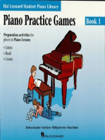 Piano Practice Games Book 1: Hal Leonard Student Piano Library