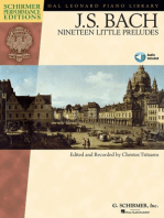 Johann Sebastian Bach - Nineteen Little Preludes: With Online Audio of Performances Schirmer Performance Editions