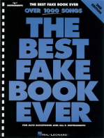 The Best Fake Book Ever - 2nd Edition: E-flat Edition