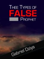 Three Types Of False Prophet