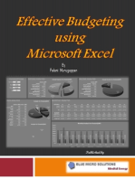 Effective Budgeting Using Microsoft Excel