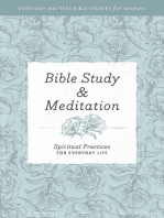 Everyday Matters Bible Studies for Women—Bible Study & Meditation