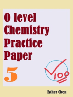 O level Chemistry Practice Papers 5
