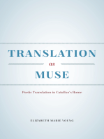 Translation as Muse
