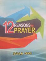 12 Reasons for Prayer