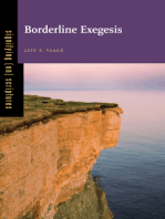 Borderline Exegesis