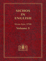 Sichos In English, Volume 5