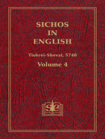 Sichos In English, Volume 4