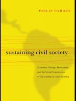 Sustaining Civil Society