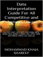 Data Interpretation Guide For All Competitive and Admission Exams