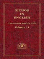 Sichos In English, Volume 11