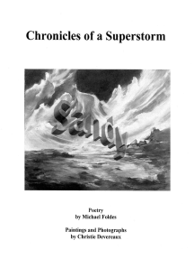 SANDY: Chronicles of a Superstorm