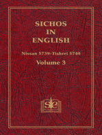 Sichos In English, Volume 3