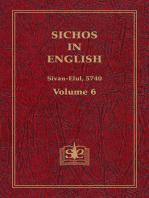 Sichos In English, Volume 6