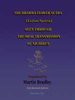 The Dharma Flower Sutra (Lotus Sutra) Seen through the Oral Transmission of Nichiren