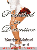 Punished in Detention (Teacher Student Romance Book 4)