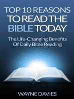 Top 10 Reasons to Read the Bible Today