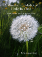 A Miscellany of Medicinal Herbs In Verse