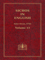 Sichos In English, Volume 13