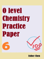 O level Chemistry Practice Papers 6