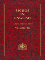 Sichos In English, Volume 15