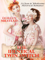 The Identical Twin Switch (A Clean & Wholesome Historical Romance)