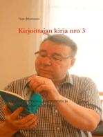 Kirjoittajan kirja nro 3