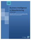 White Paper on Business Intelligence in Manufacturing