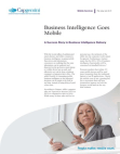 Study on Business Intelligence Goes Mobile