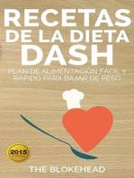 Recetas de la dieta Dash