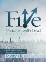 Five Minutes with God