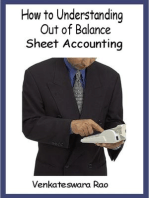 How to Understanding Out of Balance Sheet Accounting