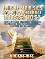 Bible Verses for Supernatural Blessings