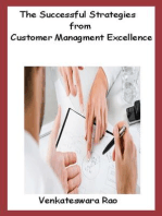 The Successful Strategies from Customer Managment Excellence