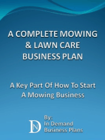 A Complete Mowing & Lawn Care Business Plan