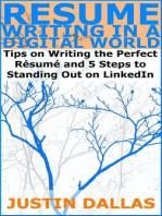 Resume Writing in a Digital World