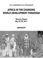 Africa in the Changing World Development Paradigm